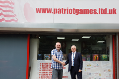 Paul Moore from Patriot Games Ltd