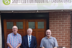 Wayne Hallam and Andrew Simons from Sheffield Orthodontic Laboratories Ltd