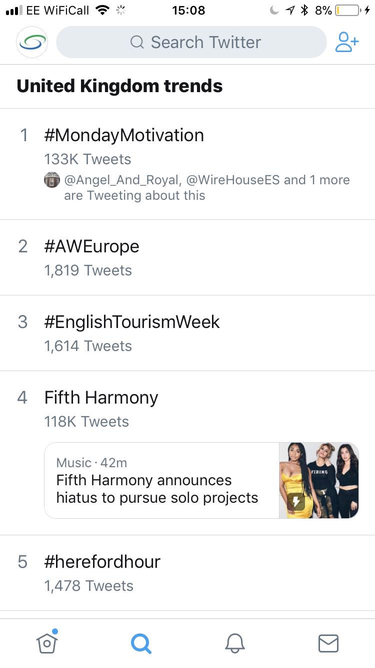 What's trending on Twitter | Shelton Associates